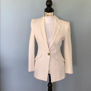 BOSTON PROPER size 4 off white blazer